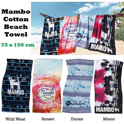 Mambo Cotton Licensed Beach Towel 75 x 150 cm