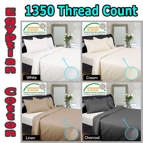 1350TC Quilt Cover Set & Sheet Set by Kingdom