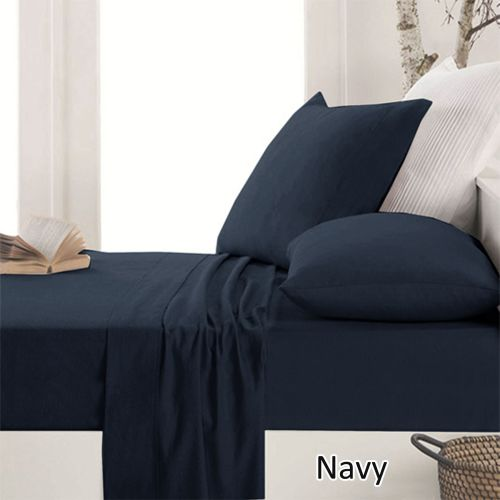 Easy-care Micro Flannelette Sheet Set by Apartmento