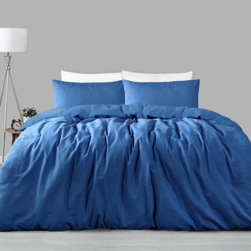 225tc Linen Cotton Quilt Cover Set Ocean King by Accessorize