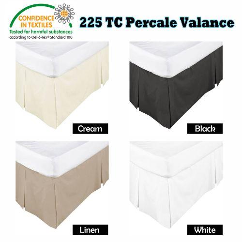 Box Pleated Valance by Kingdom