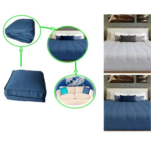 Convertible 2 in 1 Cushion / Summer Quilt