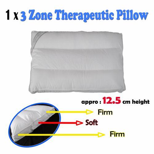 3 Zone Therapeutic Pillow