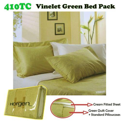 410TC Horgen Vinelet Green Bed Pack