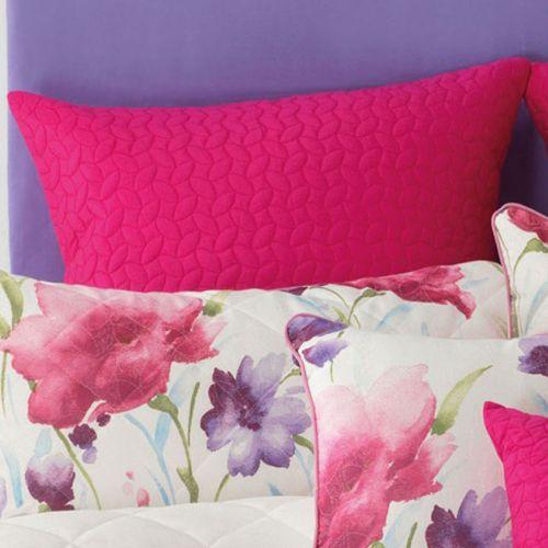 Anastacia European Pillowcases One Pair by Bianca