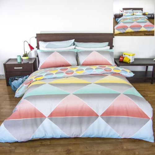 Scout Reversible Quilt Cover Set by Apartmento