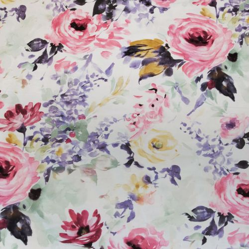 Holly Printed Floral Quilt Cover Set by Ardor