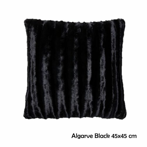 Assorted Fluffy Faux Fur Square Filled Cushion