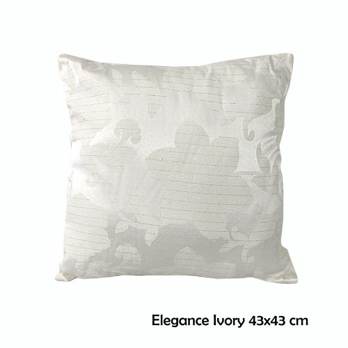 Assorted Floral Leaves Square Filled Cushion