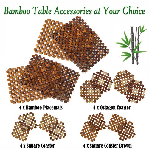 Bamboo Table Accessories by Choice