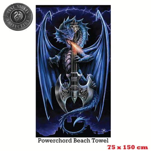 Beach Towel 75 x 150 cm by Anne Stokes