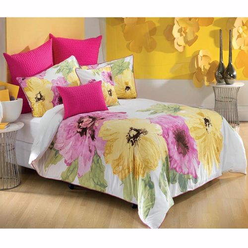 7 Pce Floriana Quilt Cover Bed Pack by Bianca