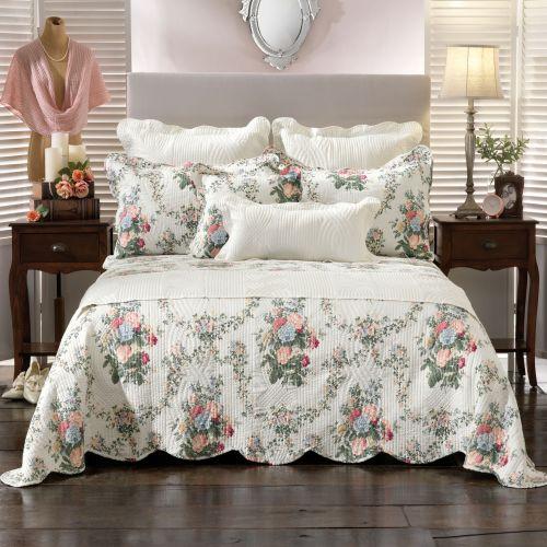 Rosedale Multi Bedspread Set by Bianca