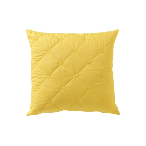 Vivid Coordinate Square Filled Cushion Chartreuse by Bianca