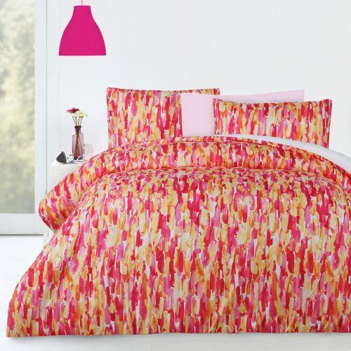 Pink Sprinkle Quilt Cover Set by Big Sleep