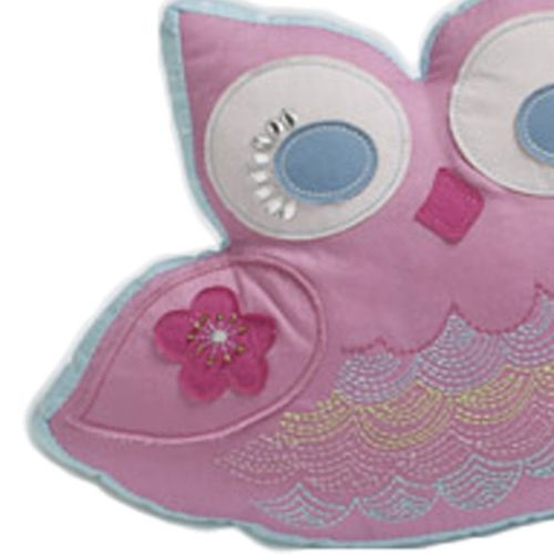 Birdcage Filled Shaped Cushion by Jiggle & Giggle