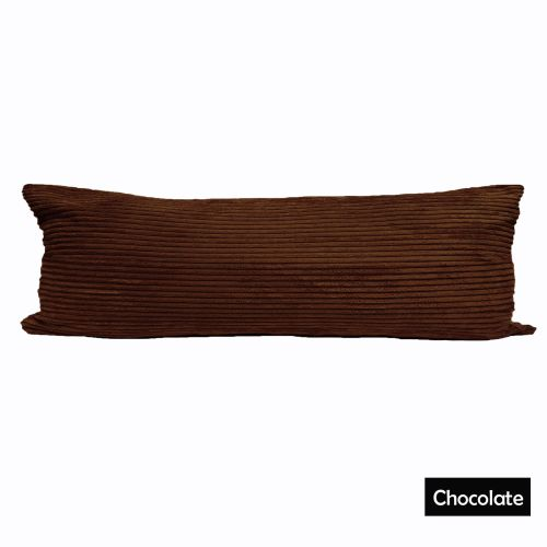 Body Pillow with Pillowcase Chocolate by Ramesses