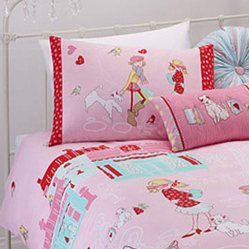 Born To Shop Quilt Cover Set by Jiggle & Giggle