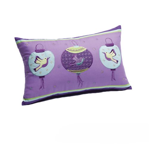 Butterfly Lantern Filled Oblong Cushion by Jiggle & Giggle