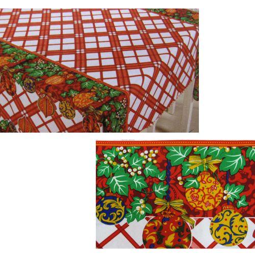 Christmas Bells Rectangular Table Cloth SD10