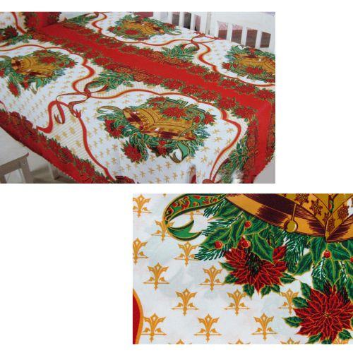 Christmas Bells Rectangular Table Cloth SD12
