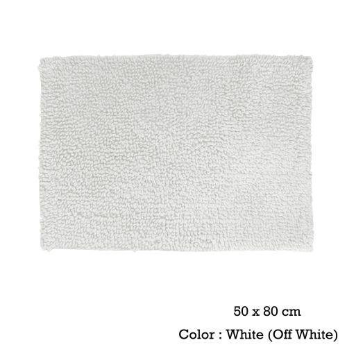 Bubbles Cotton Bath Mat 50 x 80cm