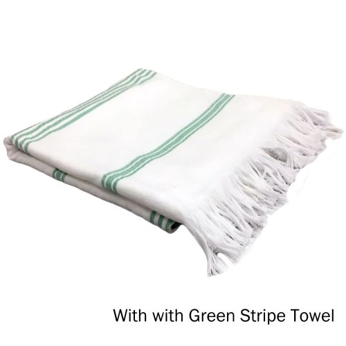 Cotton Terry Turkish Towel 70 x 140 cm by Home Innovations