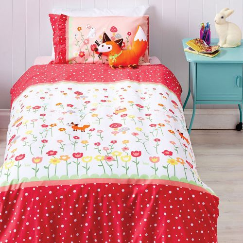 Reversible Storybook Quilt Cover Set by Cubby House Kids