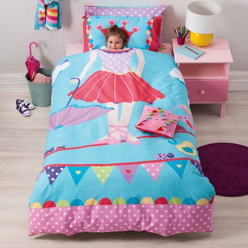 Reversible Tabitha Tightrope Quilt Cover Set by Cubby House Kids