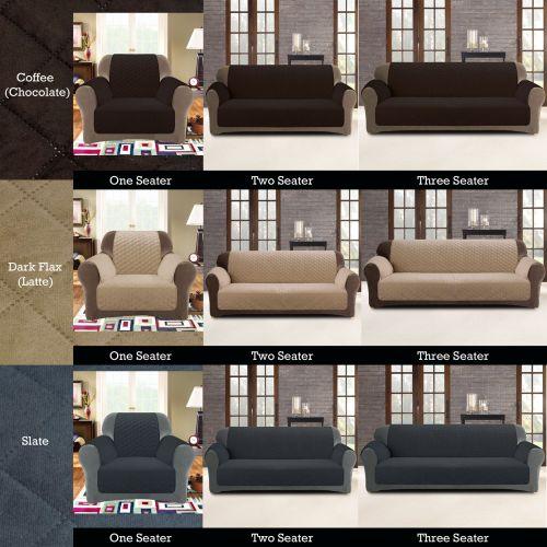 Custom Fit Sofa Cover Protector Antimacassar