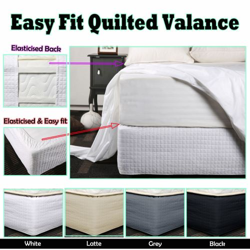 Easy Fit Quilted Valance