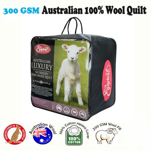 300GSM Australian Wool Quilt by Easyrest