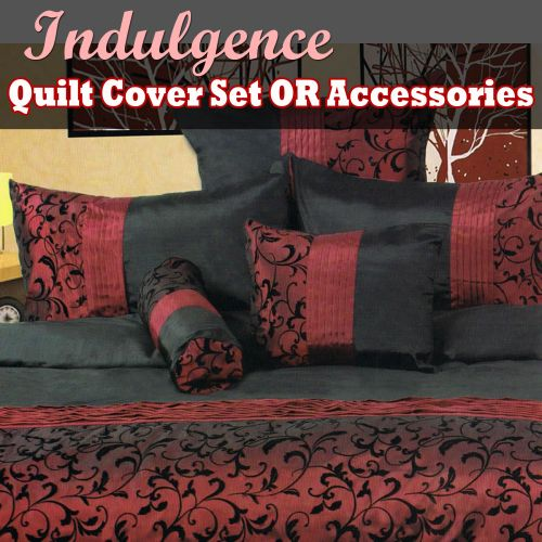 Indulgence Quilt Cover Set or Accessories by Phase 2