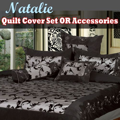Natalie Quilt Cover Set or Accessories by Phase 2