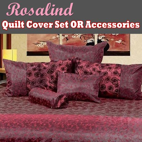 Rosalind Quilt Cover Set or Accessories by Phase 2