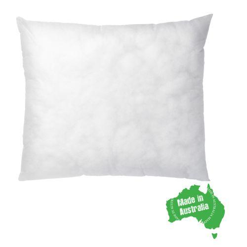 One European Pillow Insert 65x65cm Polyester Filled New