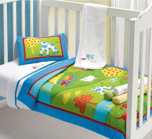 Farmyard Comforter + Pillow