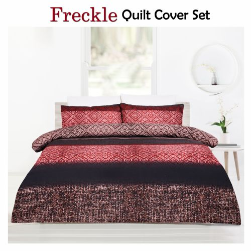 Freckle Brown Quilt Cover Set by Big Sleep