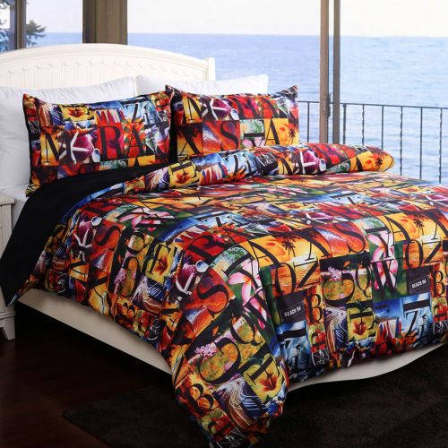 Aloha Quilt Cover Set by Georges Fine Linens