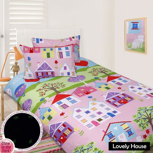 Glow In The Dark Quilt Cover Set - Lovely House