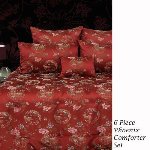 6 Piece Phoeonix Comforter Set Queen by Grand Aterlier