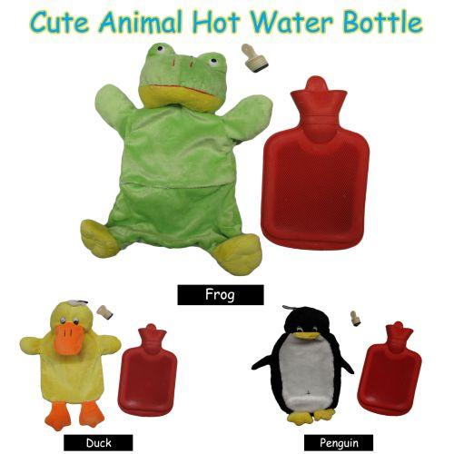 Animal Kids Hot Water Bottle by Kingdom