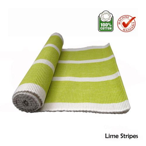 Cotton Ribbed Table Runner by IDC Homewares
