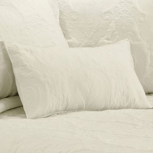 Illiana Cream Filled Cushion Oblong by Bianca