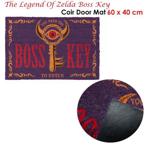 Legend Of Zelda Coir Door Mat - Boss Key 60 x 40cm