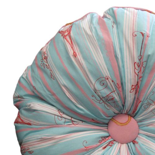Born To Shop Filled Cushion 50 cm Round by Jiggle & Giggle