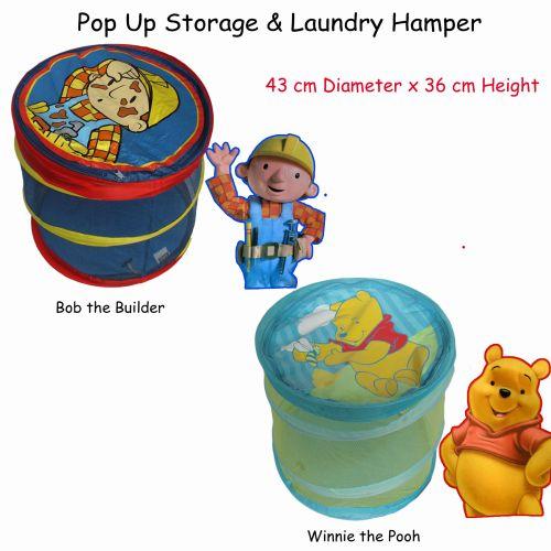 Pop Up Storage & Laundry Hamper by Caprice