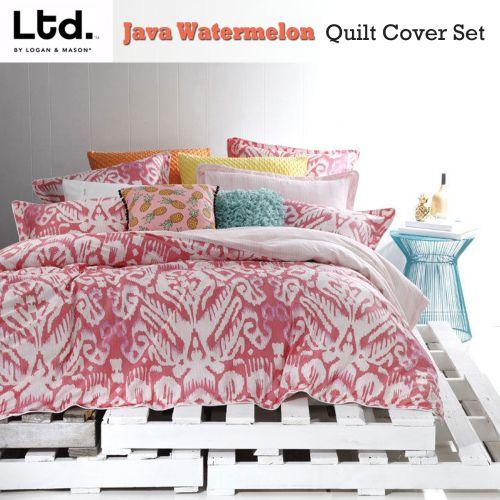 Java Watermelon Quilt Cover Set by Ltd.