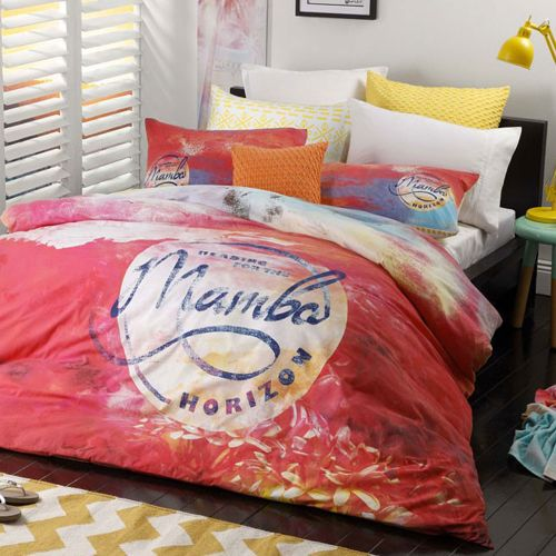 Sunset Pink Quilt Cover Set by Mambo
