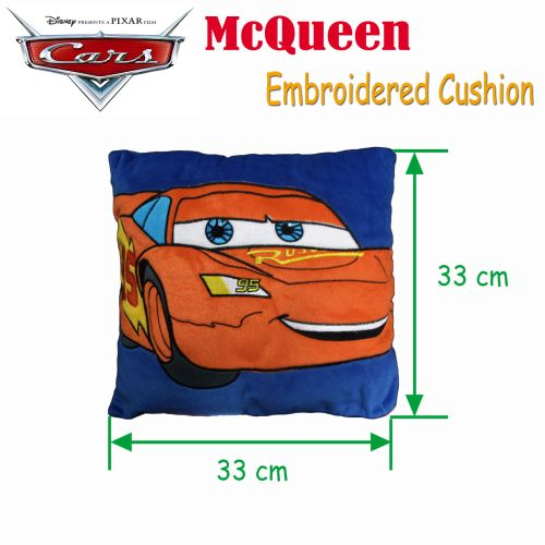 Pixar Cars McQueen Embroidered Cushion by Disney
